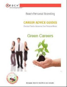 Free Green Careers & Personal Branding Advice Guide