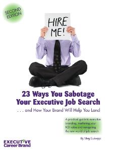 Personal Branding & Executive Job Search ebook
