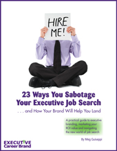 Personal Branding and Executive Job Search eBook