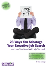 Personal Branding & Executive Job Search ebook