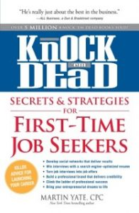 Knock 'em Dead First-time Job Seekers
