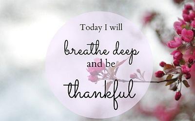 Gratitude: The Happiness Drug