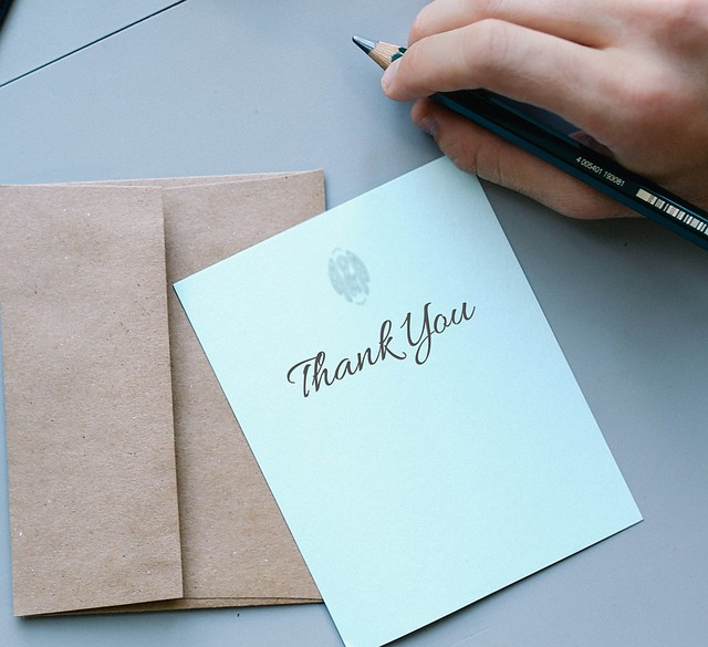 executive branding and thank you notes