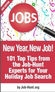 FREE EBOOK – 101+ Top Holiday Job Search Tips from the Experts