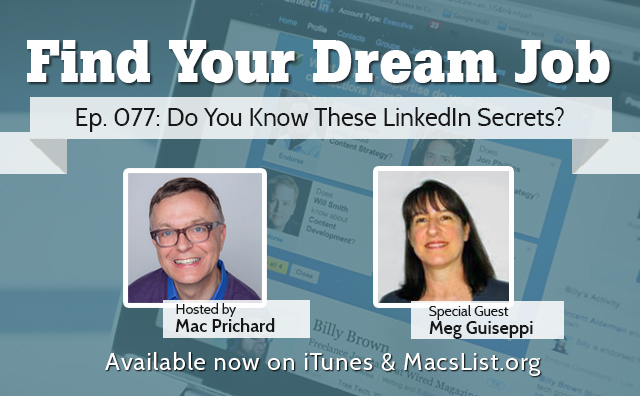 LinkedIn Personal Branding Secrets for Executive Job Search