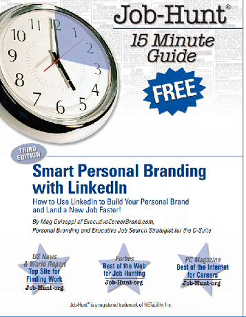 Smart personal branding with LinkedIn