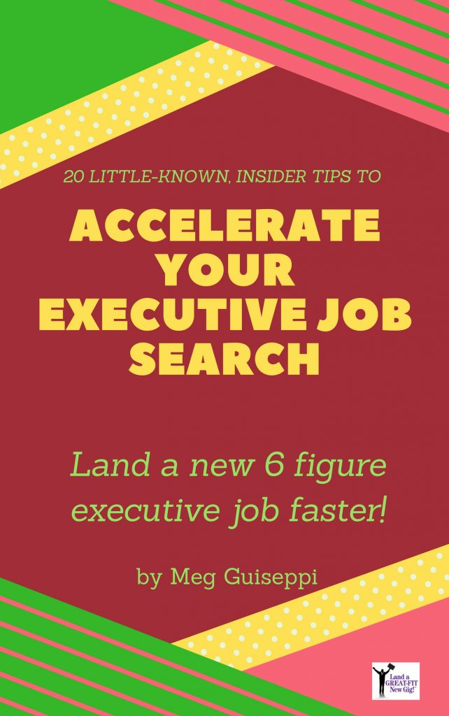 accelerate your executive job search