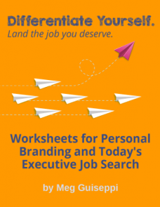 worksheets for executive job search