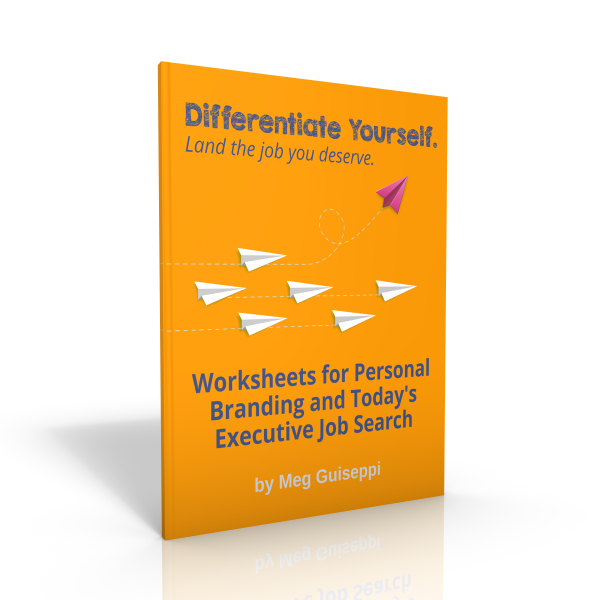 worksheets for today's executive job search